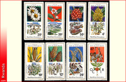 Rwanda 0629/38**  Travail Agricole   MNH