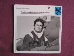 PAUL BARTON Malouines    FICHE AVION Avec Description  Aircraft Aviation - Avions