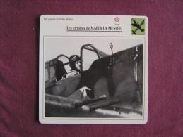 MARIN LA MESLEE   FICHE AVION Avec Description  Aircraft Aviation - Avions