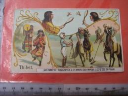 4 Postcards & 8 Chromos TIBET +gravures, Lithos, Album Pages - Thibétan Ladak Lama Sven Hédin Lhassa Yak VERY GOOD Litho - Tibet