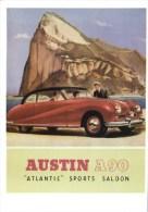 Austin A90 Atlantic    -   Carte Postale - Voitures De Tourisme