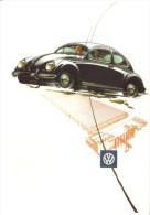 Volkswagen 'Beetle'    -   Carte Postale - Voitures De Tourisme