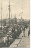 ROSCOFF - Le Fond Du Port - Embarquement De Pommes De Terre - Animé - Scan Recto Verso - Roscoff