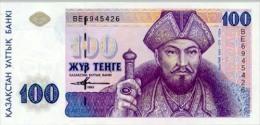 Kazakhstan 100 Tenge 1993 Pick 13 UNC - Kazakistan