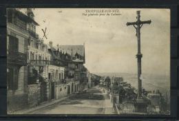 CPA: 14 - TROUVILLE - VUE GENERALE PRISE DU CALVAIRE - Trouville