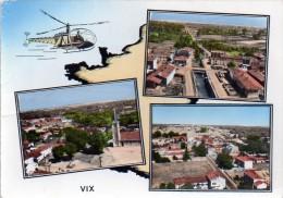 Cpm  ( 85 )  Vix  Vue Aerienne (multivue ) - Sonstige Gemeinden