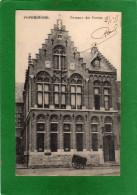 POPERINGHE - Bureaux des Postes -CPA    ann�e 1915    Edit. E. Willems