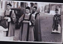 RELIGIEUX CP PHOTO DE 1956