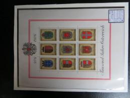 """1976  """"  1000 Jahre Österreich  """"  Block 4,  Postfrisch   LOT 15 - Blocks & Kleinbögen"""