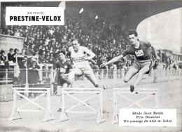Photo Stade Jean Bouin Paris 1930, Athlétisme Prix Blanchet 200 M Haies - Sport