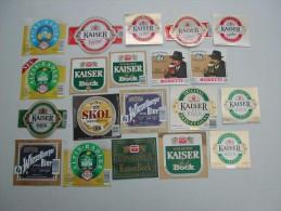 120 Beerlabels Bräu AG / Innsbruck - Bière