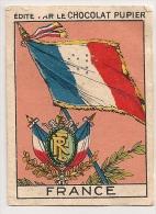 """Image Page 1 De L´album """"L´Europe"""". 1933. Chocolat Pupier. France Drapeaux - Other"""