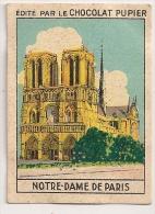 """Image Page 1 De L´album """"L´Europe"""". 1933. Chocolat Pupier. France Notre-Dame De Paris - Autres"""