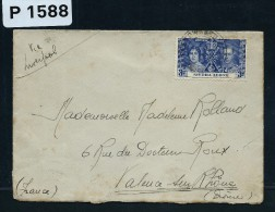 GB- SIERRA LEONE  LETTRE DE FREEETOWN  POUR LA FRANCE  1933  VIA LIVERPOOL   A VOIR - Sierra Leone (...-1960)