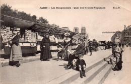 Cpa  75  Paris , Les Bouquinistes , Quai  Des Grands- Augustins - Petits Métiers à Paris
