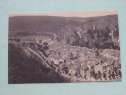 Panorama Avec Le Vieux Château ...Vue Prise De Corumont / Anno 1932 ( Zie Foto Voor Details ) !! - La-Roche-en-Ardenne