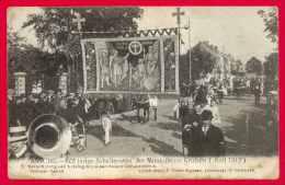 POSTKAART  ASSE  ASSCHE  600 JARIGE JUBELFEESTEN 1912