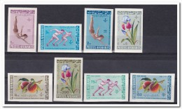 Afghanistan 1962, Postfris MNH, Imperf. Flowers, Fruit And Sport - Afghanistan
