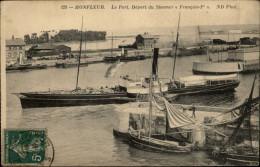14 - HONFLEUR - Steamer - Bateau à Vapeur - Honfleur
