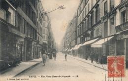 ( CPA PARIS 3EME )  RUE NOTRE-DAME-DE-NAZARETH  / - Sin Clasificación