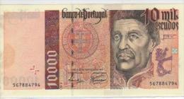 10.000$00 Portugal Nota INFANTE Ch.2 1998 Com Mancha Lado Esqerdo Acet Paypal - Portugal