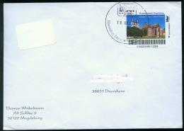 Biber Post Brief Kloster Unser Lieben Frauen - Kunstmuseum Magdeburg Glatt, Langer UPOC  0,45 (19.7.2010) Bpb200 - Privé- & Lokale Post