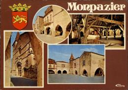 24 - MONPAZIER - Multi Vues - Halles - France