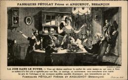 25 - BESANCON - Carte Publicitaire Fabrique Pétolat - Besancon