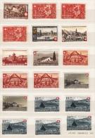 Beaux Timbres Suisses Neufs * (50) Plus Un Bloc De Quatre ** De 1939 à 1962 / Pr Revendeur - Pro Patria