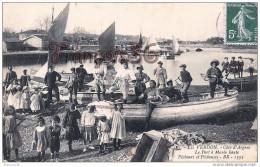 (33) Le Verdon Environs De Soulac Sur Mer Pêche Pêcheuses Pêcheurs Parqueuses Ostréiculture Huîtres - TTBE - 2 SCANS - Autres Communes