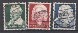 Deutsches Reich - 1935 - Mi. 573/575 (o) - Usados