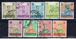 T+ Thailand 1980 1981 1982 1983 1984 Mi 956 993-94 1065 1076 1088 1105 1107 1187 Bhumipol - Thaïlande