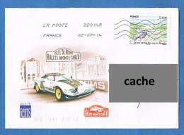 France 2014 - Réf. 4861 - 20 Ans Du Lien Fixe Sous La Manche - Sur Enveloppe- Oblitéré - Oblitérés