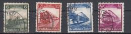 Deutsches Reich -  Mi. 580/583 (o) - Usados