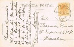 11748. Postal TARRAGONA 1922. Cruz De San Antonio - Cartas