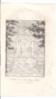 CHINE CHINA Gravure 1837 - Salle Extérieure Du Ming Tang -Firmin Didot Frères éditeurs. - Prints & Engravings