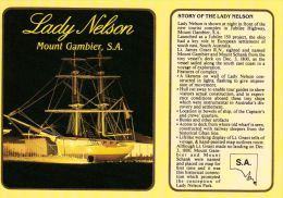 1 AK Australien * Story Card Of The Ship Lady Nelson * - Mt.Gambier