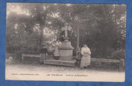 CPA - LES PRADEAUX - La Croix Saint Roch - Editeur Chauvet Marion à Issoire - Prés Saint Rémy De Chargnat - Non Classificati