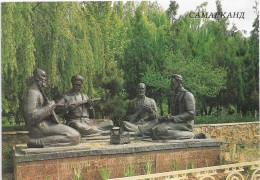 Ouzbékistan. Samarcande. Le Jardin Des Poètes. - Ouzbékistan
