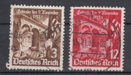 Deutsches Reich -  Mi. 598x-599x (o) - Usados