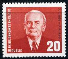DDR - Michel 807 - ** Postfrisch (B) - 20Pf  Wilhelm Pieck - DDR