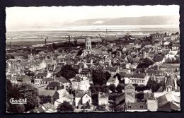 CPSM-PHOTO- FRANCE- HONFLEUR (14)- VUE GENERALE- GRUES- USINES- - Honfleur