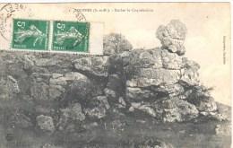 3167 SOUPPES Seine Et Marne Carte Postale Semeuse 5 C Vert Yv 137e Paire De Carnet Ob 10 9 1911 - France