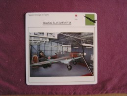 ILIOUCHINE Il 2 Stormovik    FICHE AVION Avec Description  Aircraft Aviation - Avions