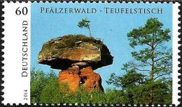 Germany - 2014 - Wild Germany - Devil Table - Mint Stamp - [7] Repubblica Federale
