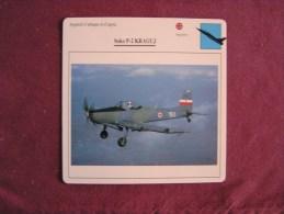 SOKO P-2 Kraguj    FICHE AVION Avec Description  Aircraft Aviation - Avions