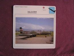 SOKO Jastreb    FICHE AVION Avec Description  Aircraft Aviation - Avions