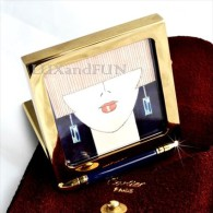 Cartier Photo Frame Gold And Lacquer - Porta Foto - Never Used - Photographie