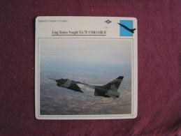 LING TEMCO VOUGHT Y A-7 F Corsair II      FICHE AVION Avec Description  Aircraft Aviation - Avions