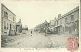 Lavaveix-les-Mines - Place De La Mairie - Autres Communes